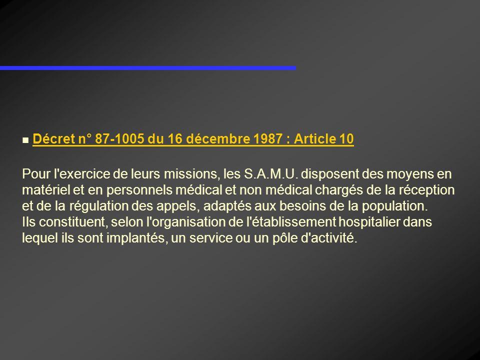 Décret n° 87-1005 du 16 décembre 1987 : Article 10