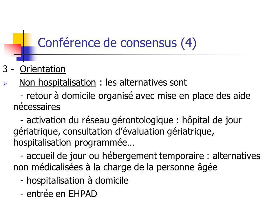 Conférence de consensus (4)