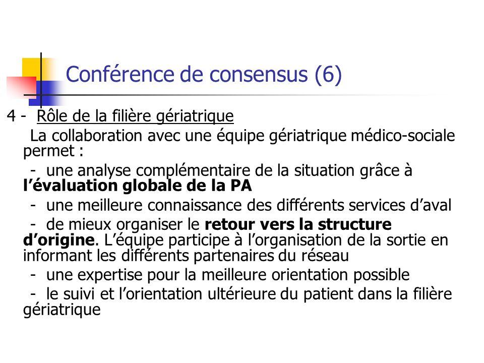 Conférence de consensus (6)