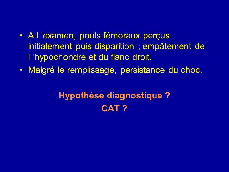 Hypothèse diagnostique