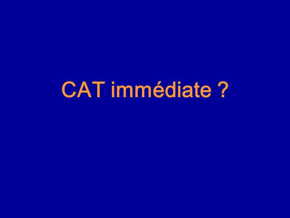 CAT immédiate