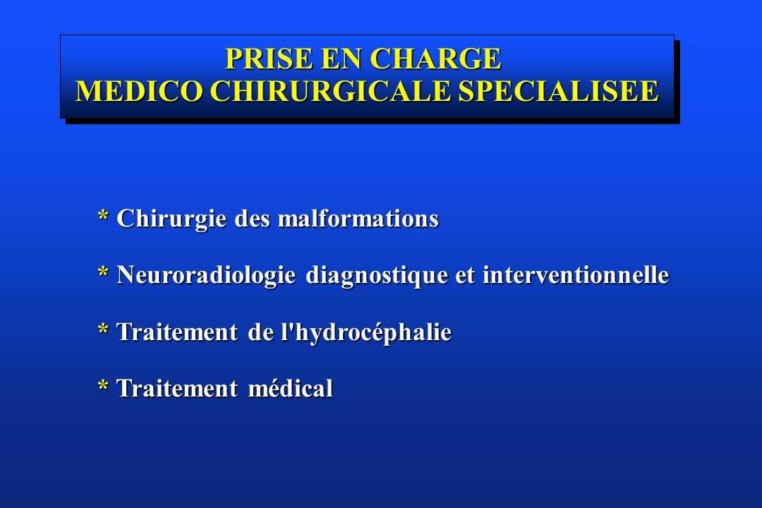 MEDICO CHIRURGICALE SPECIALISEE