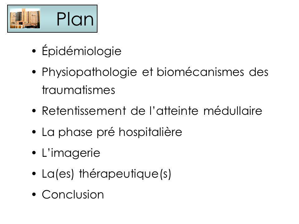 Plan Épidémiologie Physiopathologie et biomécanismes des traumatismes