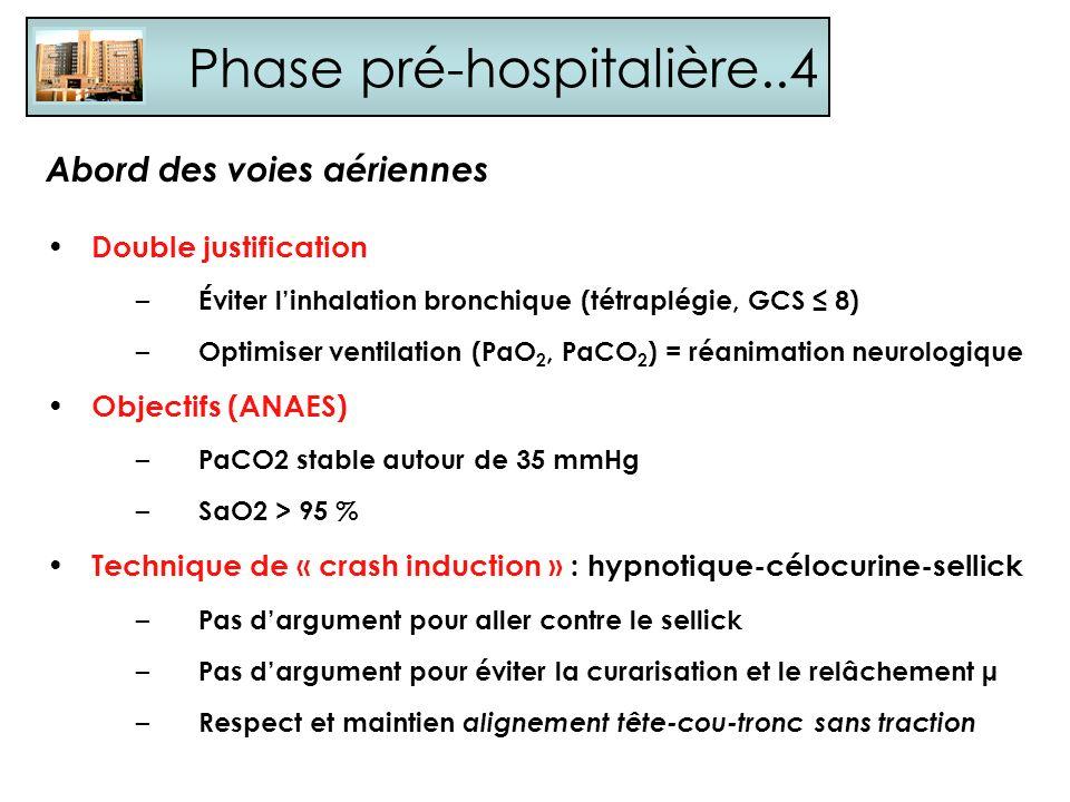Phase pré-hospitalière..4