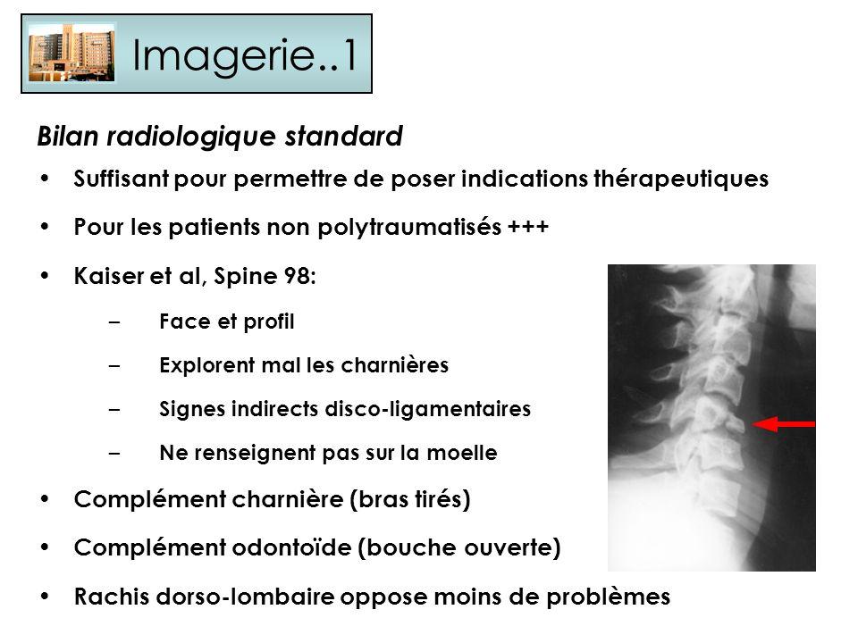Imagerie..1 Bilan radiologique standard