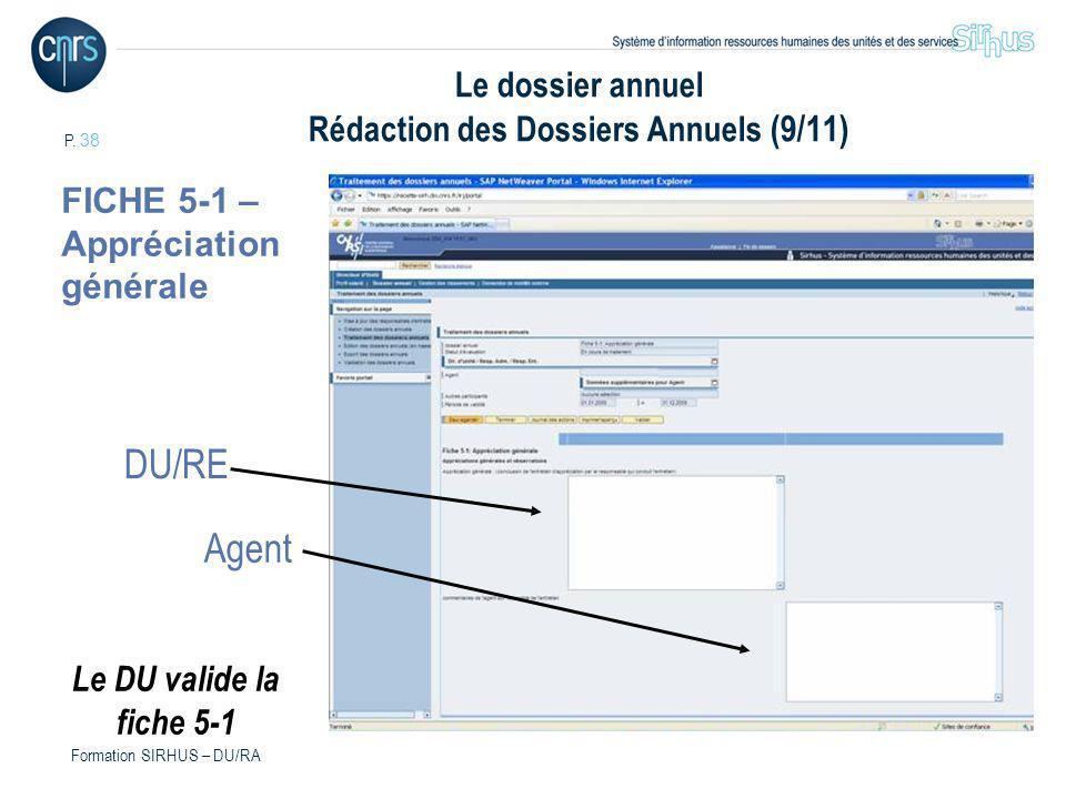 Le dossier annuel Rédaction des Dossiers Annuels (9/11)