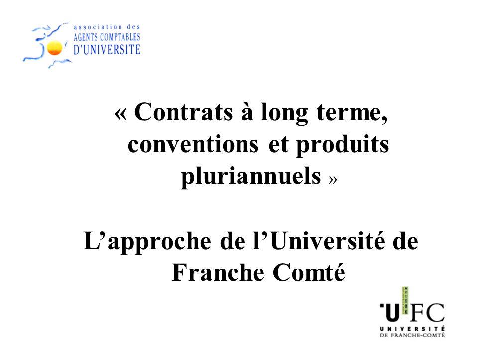 L'approche de l'Université de Franche Comté