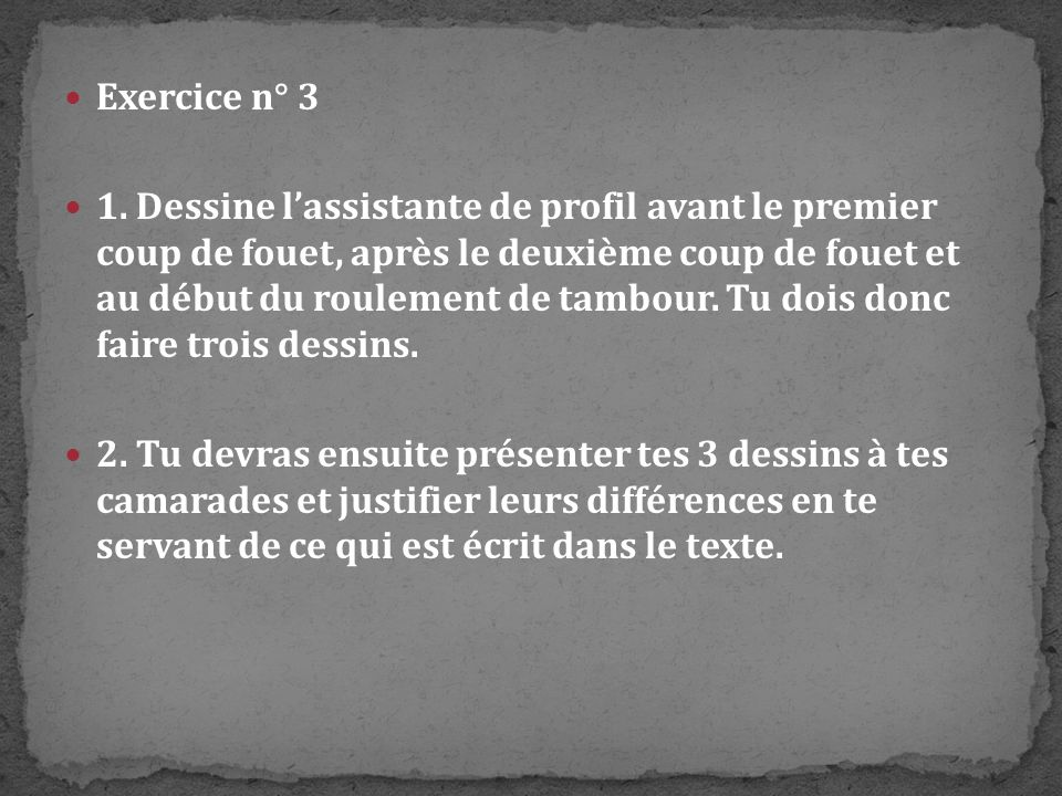 Exercice n° 3
