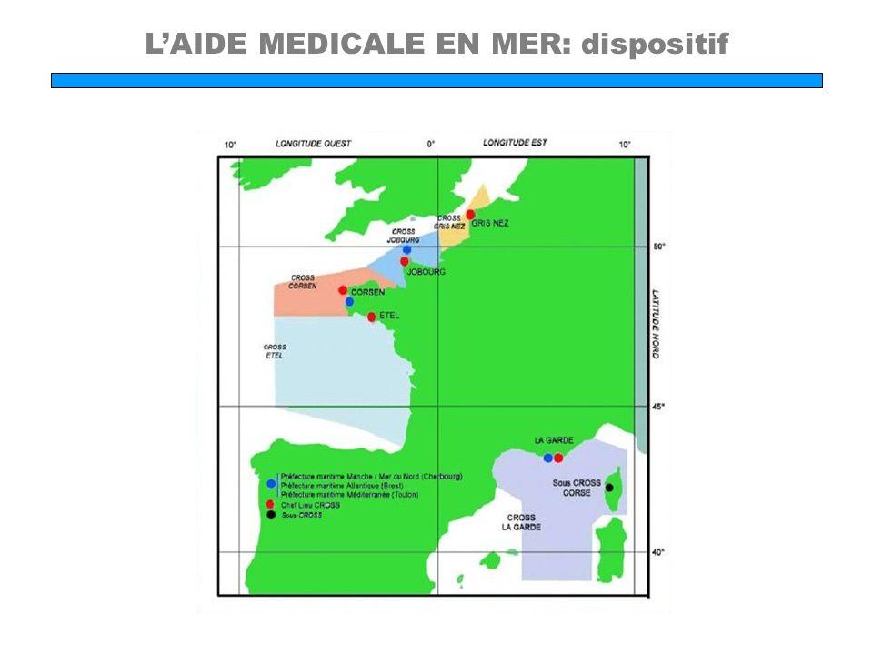 L'AIDE MEDICALE EN MER: dispositif
