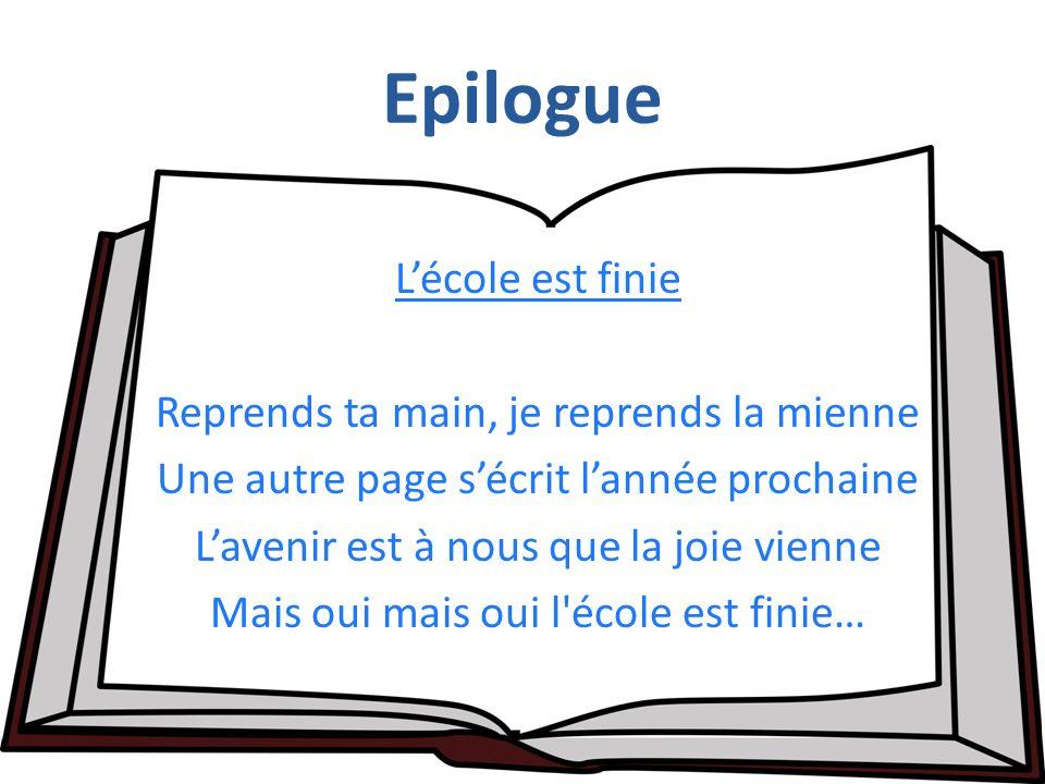 Epilogue