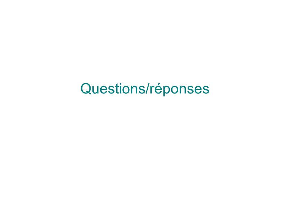 Questions/réponses 29