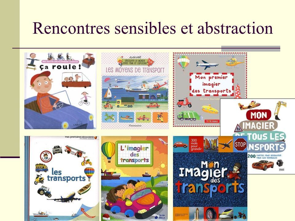 Rencontres sensibles et abstraction