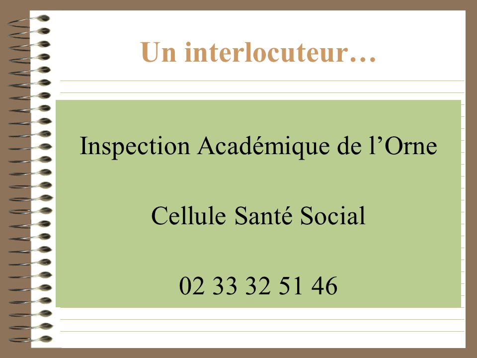 Inspection Académique de l'Orne