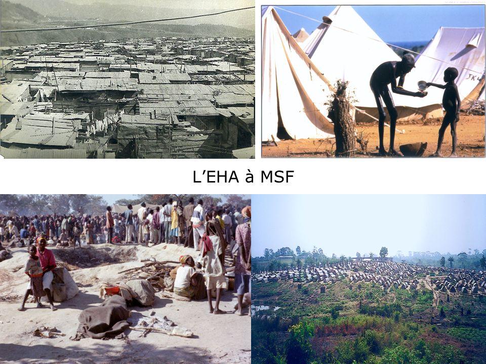 L'EHA à MSF