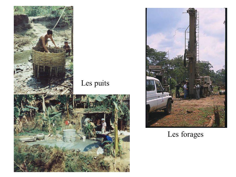 Les puits Les forages