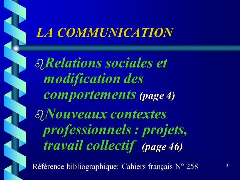 Relations sociales et modification des comportements (page 4)
