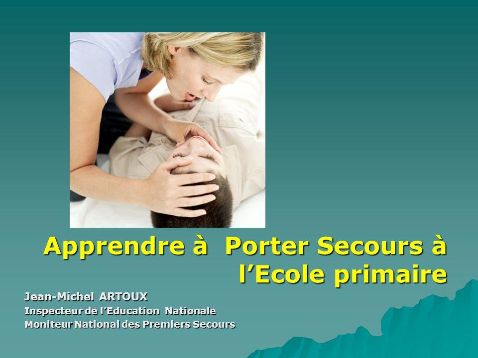 A.P.S Apprendre à Porter Secours à l'Ecole primaire Jean-Michel ARTOUX