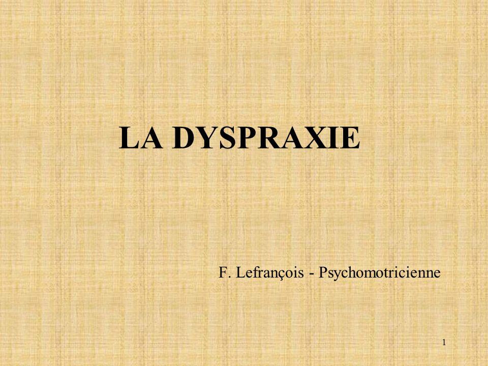 F. Lefrançois - Psychomotricienne