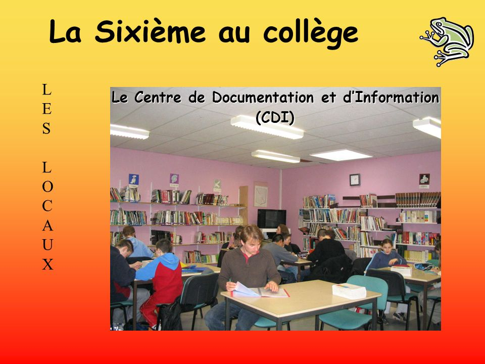 Le Centre de Documentation et d'Information