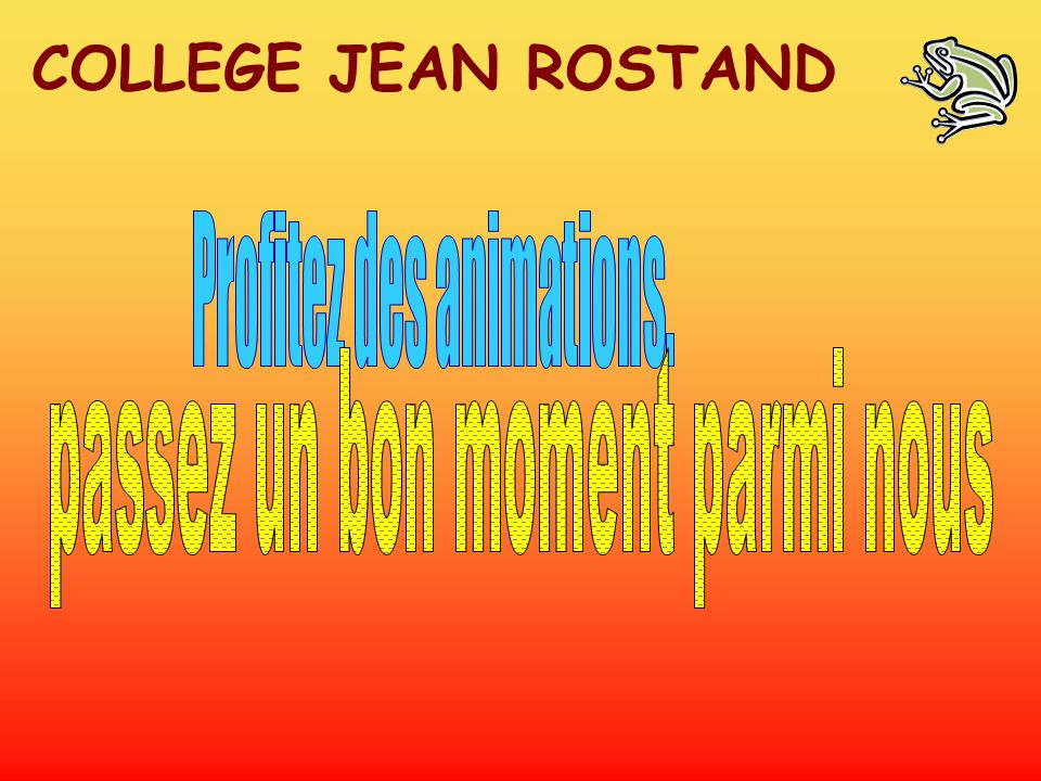 COLLEGE JEAN ROSTAND