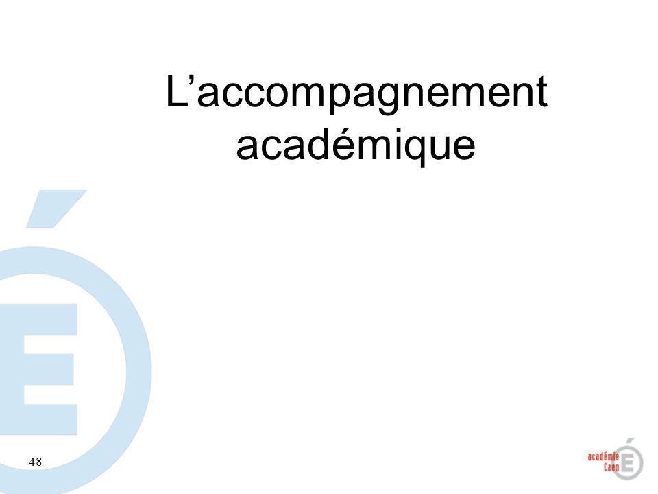 L'accompagnement académique