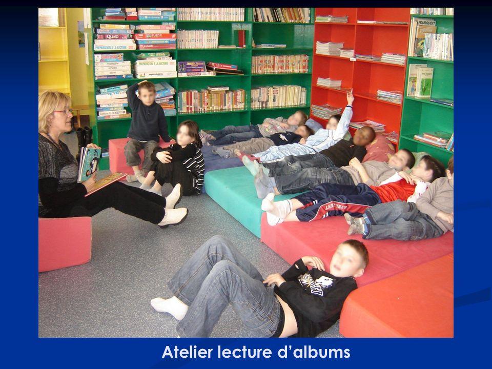Atelier lecture d'albums