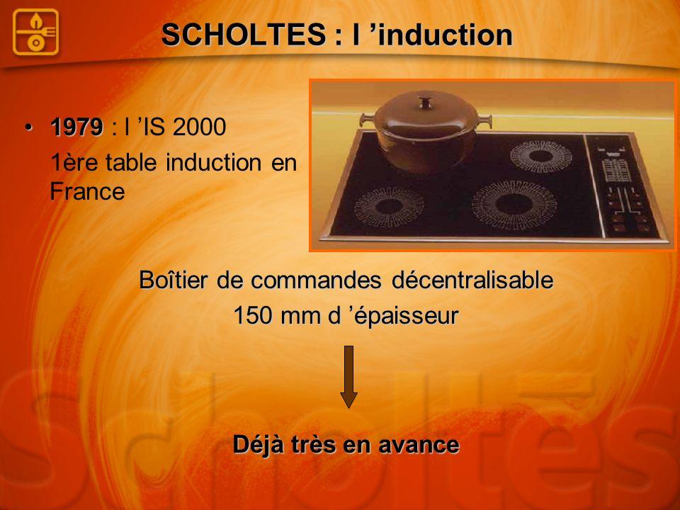 SCHOLTES : l 'induction