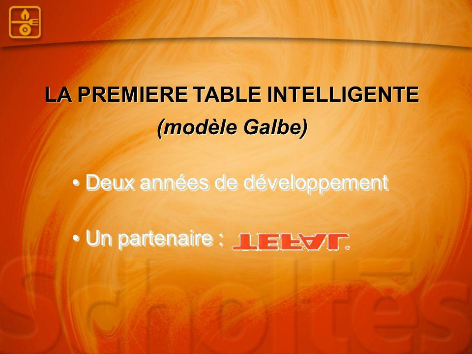 LA PREMIERE TABLE INTELLIGENTE