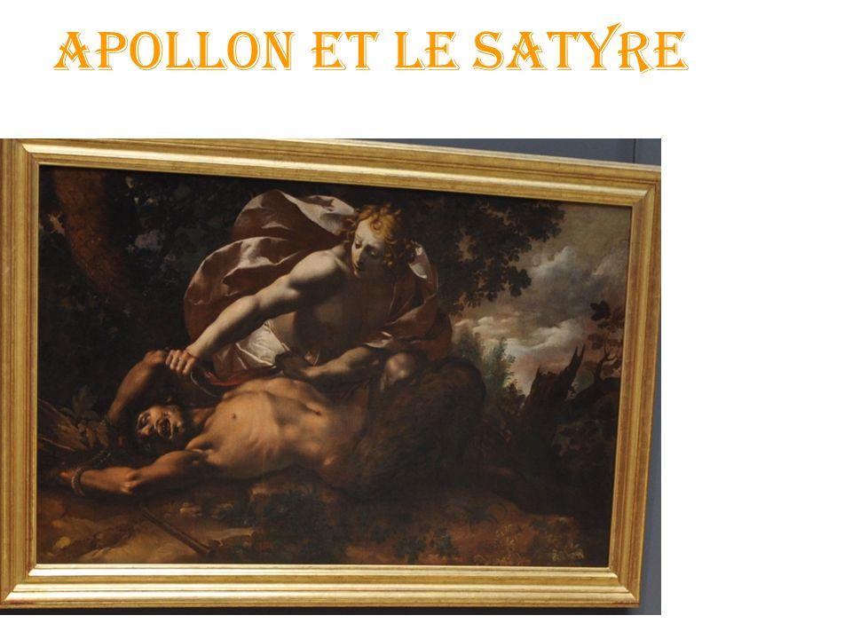 Apollon et le Satyre