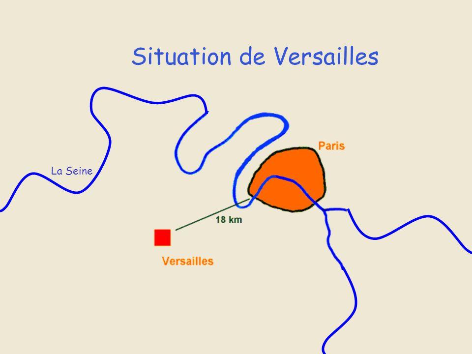 Situation de Versailles