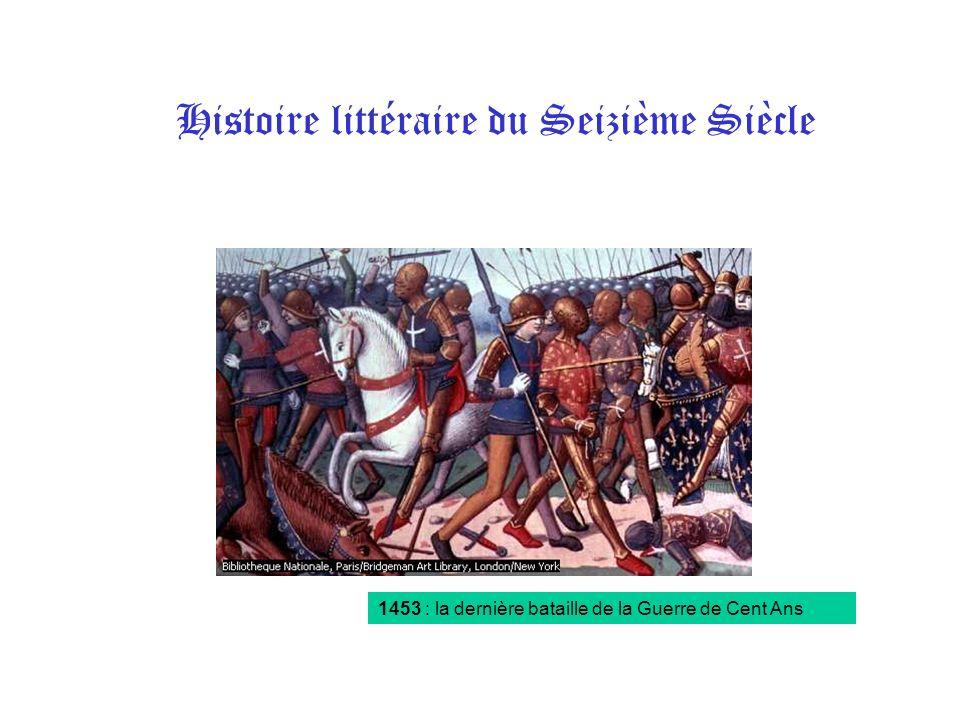 Histoire littéraire du Seizième Siècle