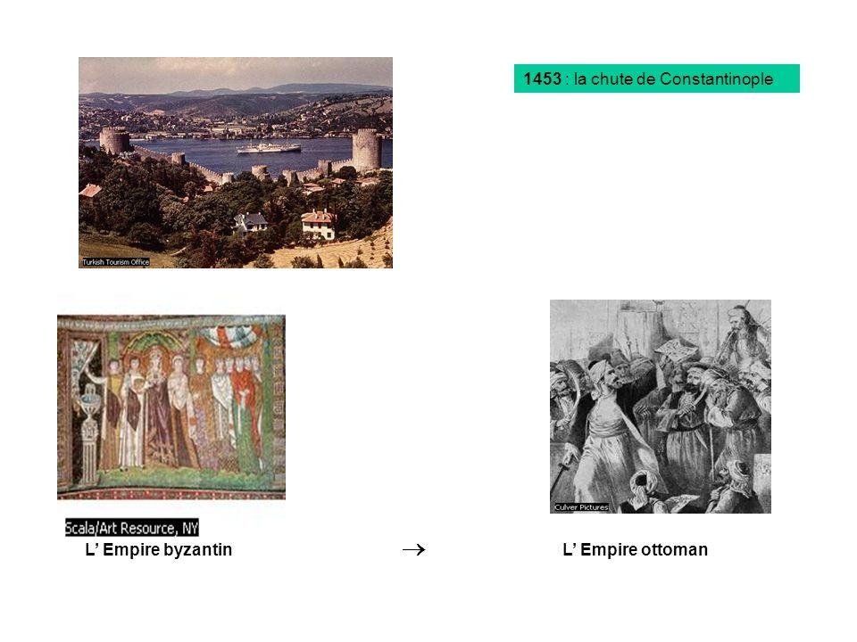 1453 : la chute de Constantinople