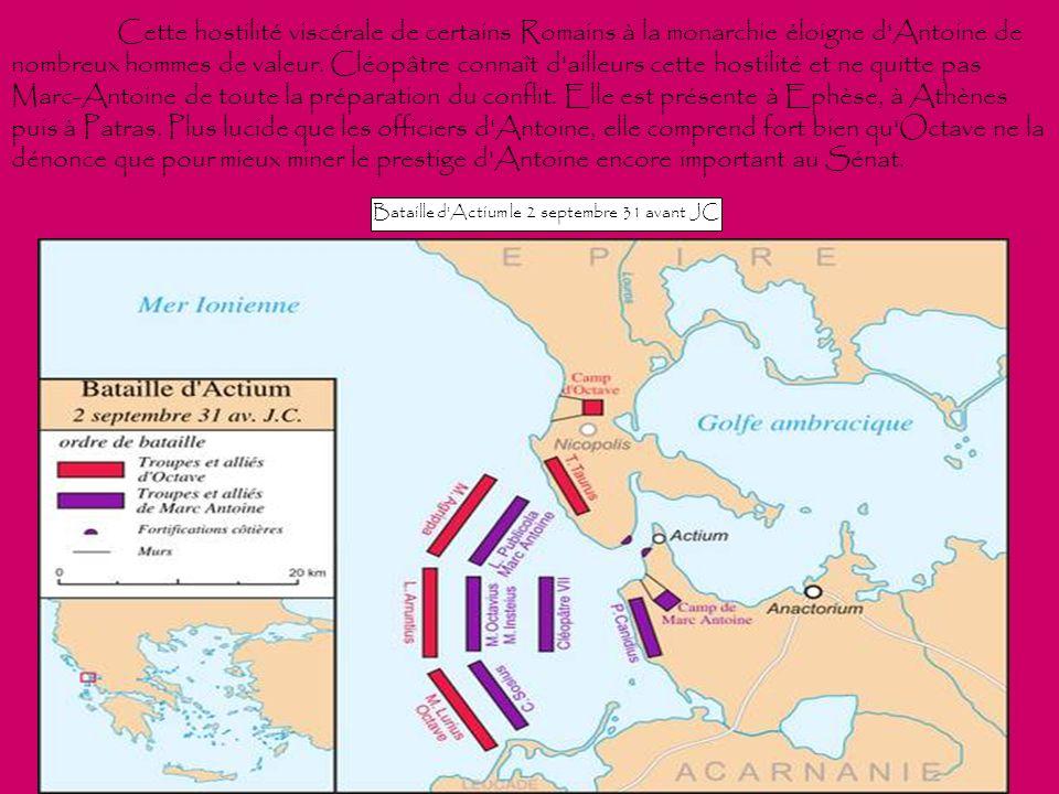 Bataille d Actium le 2 septembre 31 avant JC