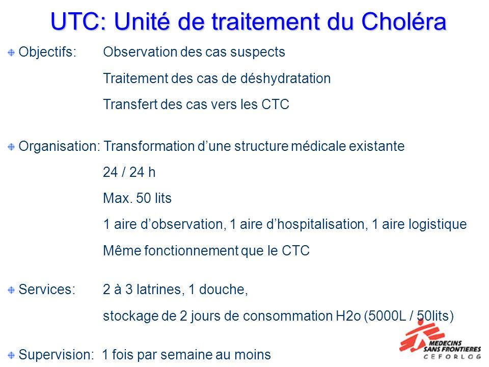 UTC: Unité de traitement du Choléra