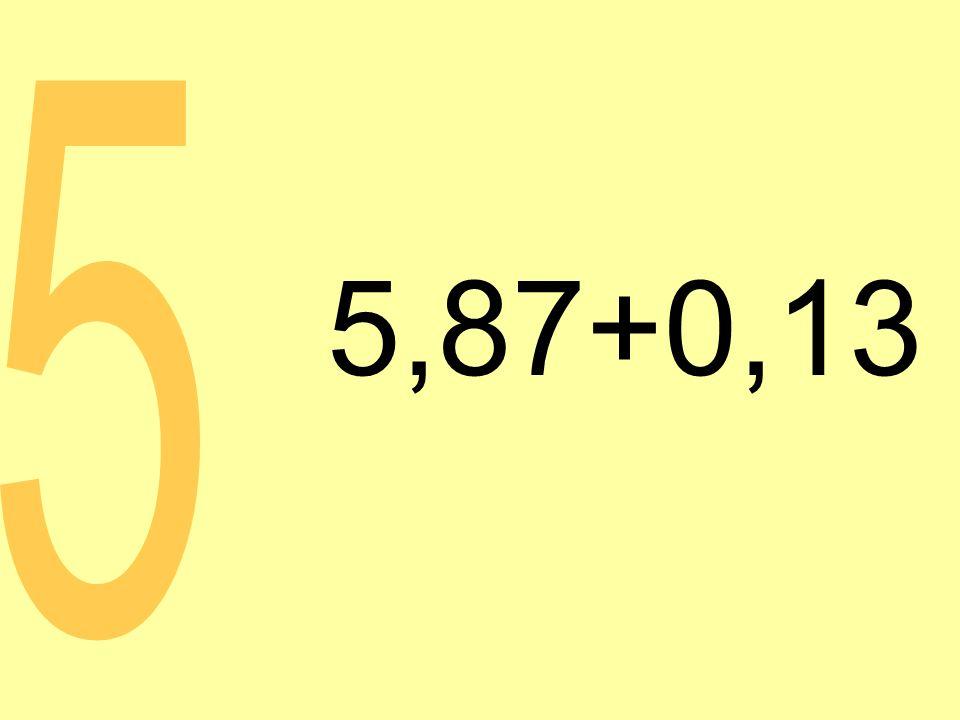 5,87+0,13 5