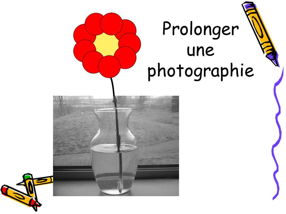 Prolonger une photographie
