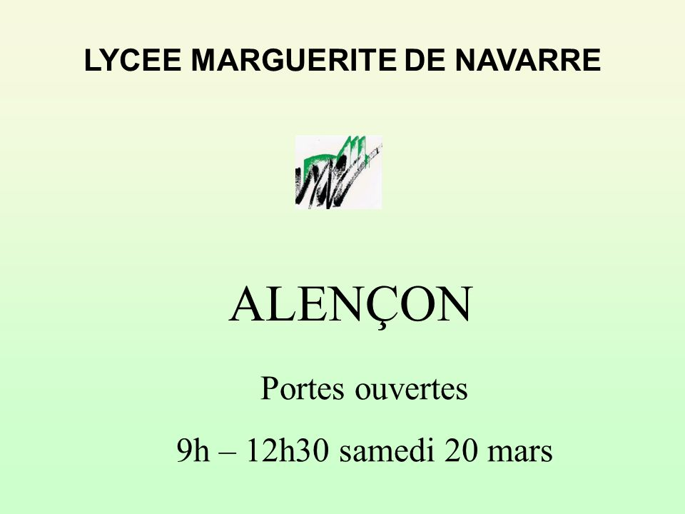 LYCEE MARGUERITE DE NAVARRE
