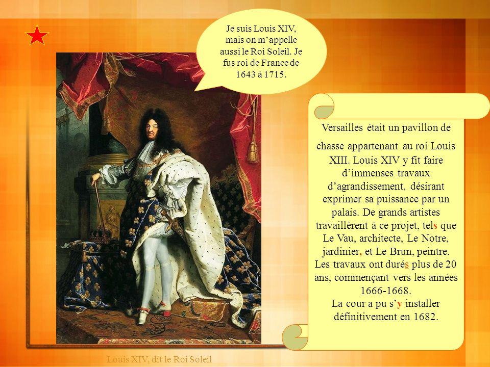 La cour a pu s'y installer définitivement en 1682.