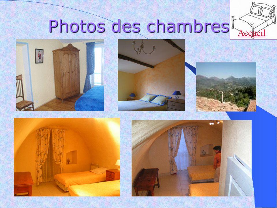 Photos des chambres Accueil