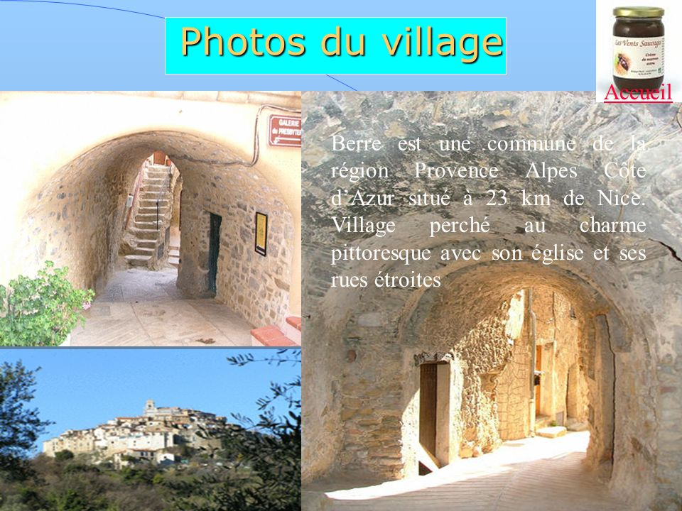 Photos du village Accueil