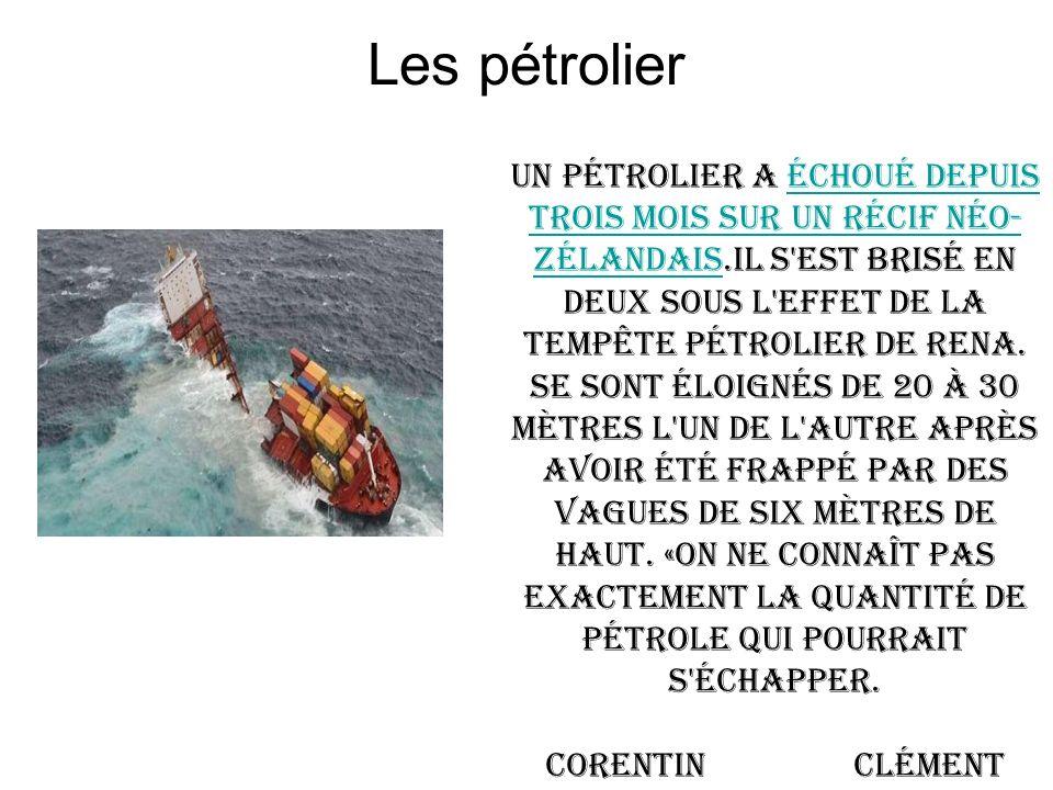 Les pétrolier