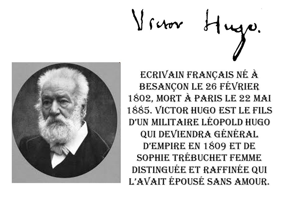 Ecrivain français né à Besançon le 26 Février 1802, mort à Paris le 22 mai 1885.