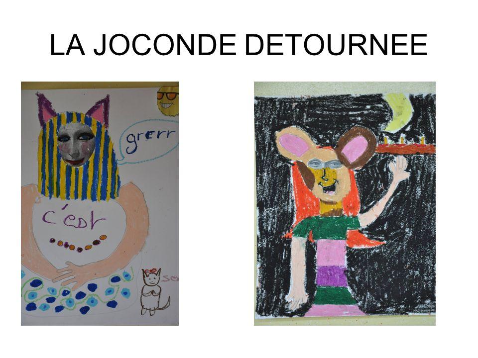 LA JOCONDE DETOURNEE
