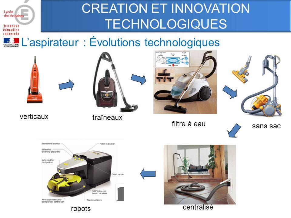 L'aspirateur : Évolutions technologiques