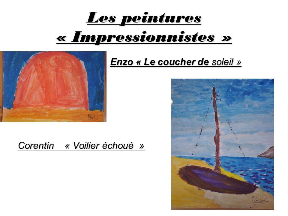 Les peintures « Impressionnistes »