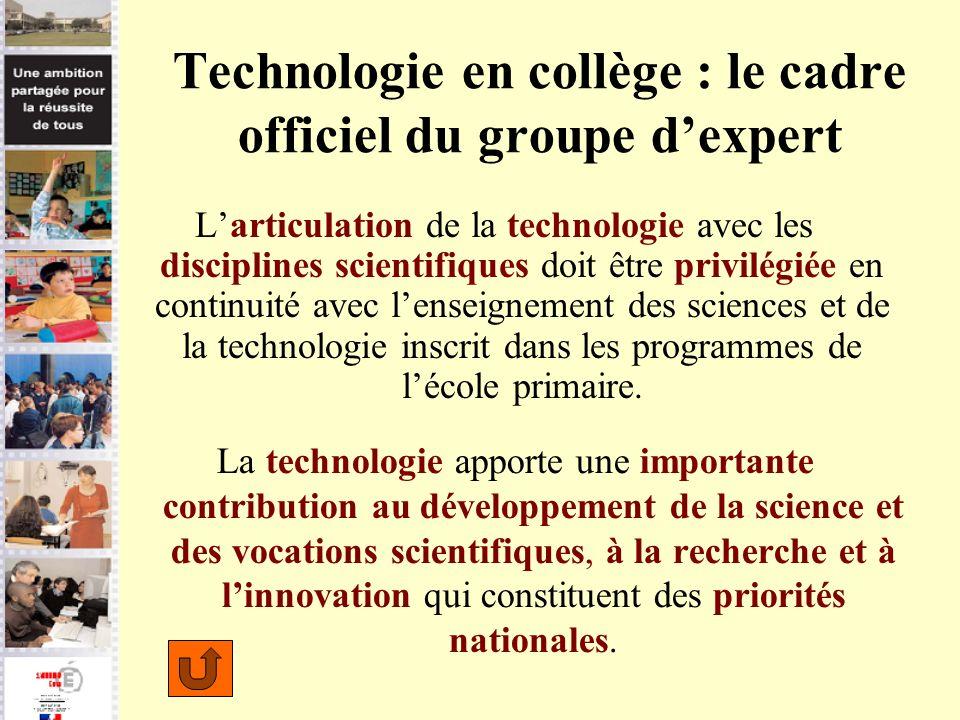 Technologie en collège : le cadre officiel du groupe d'expert
