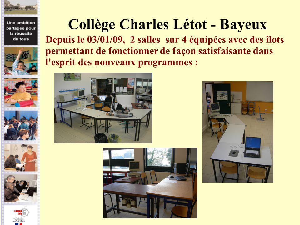 Collège Charles Létot - Bayeux
