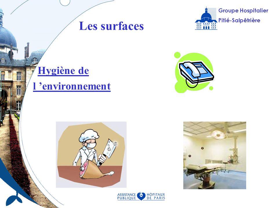 Les surfaces Hygiène de l 'environnement