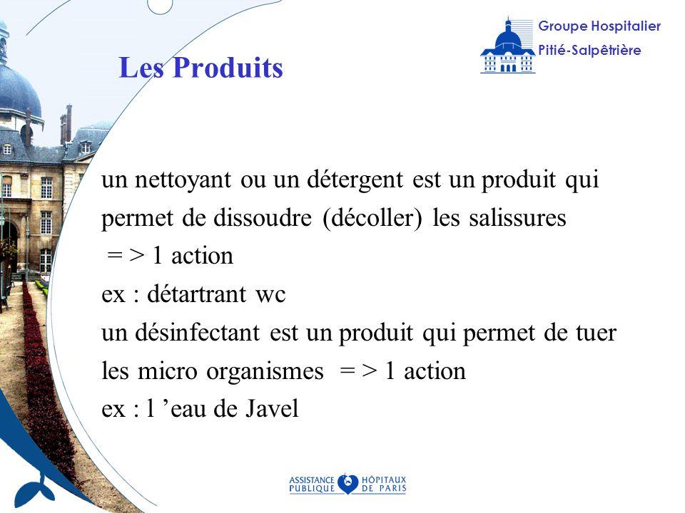 Les Produits un nettoyant ou un détergent est un produit qui