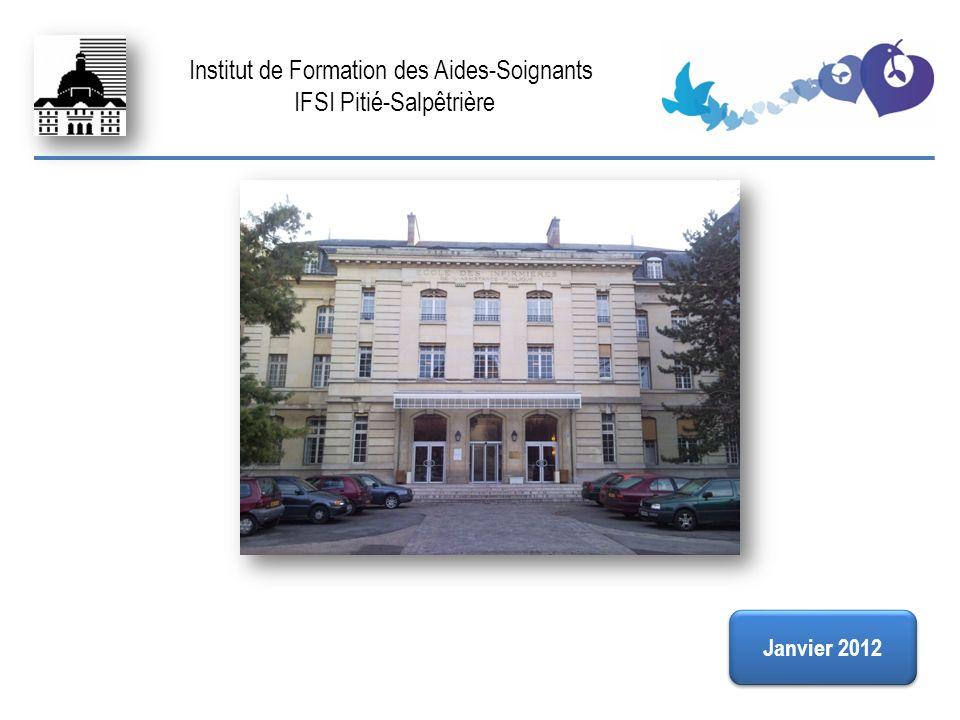FIN Institut de Formation des Aides-Soignants IFSI Pitié-Salpêtrière